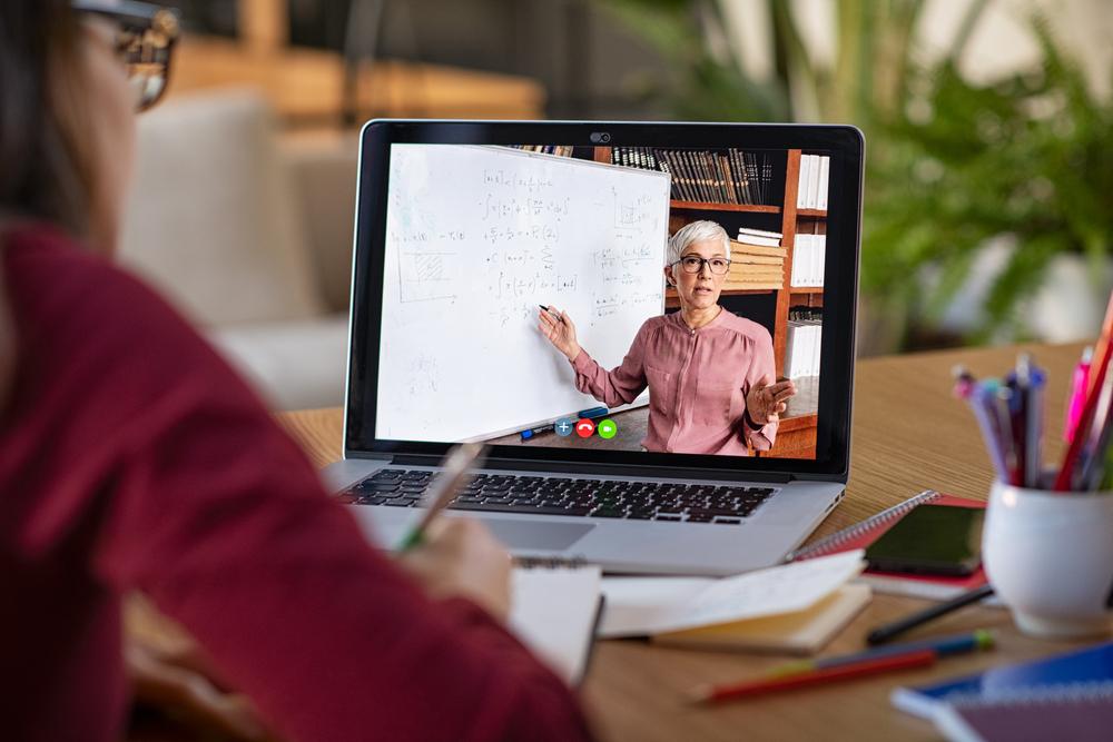 Learning visio computer teacher