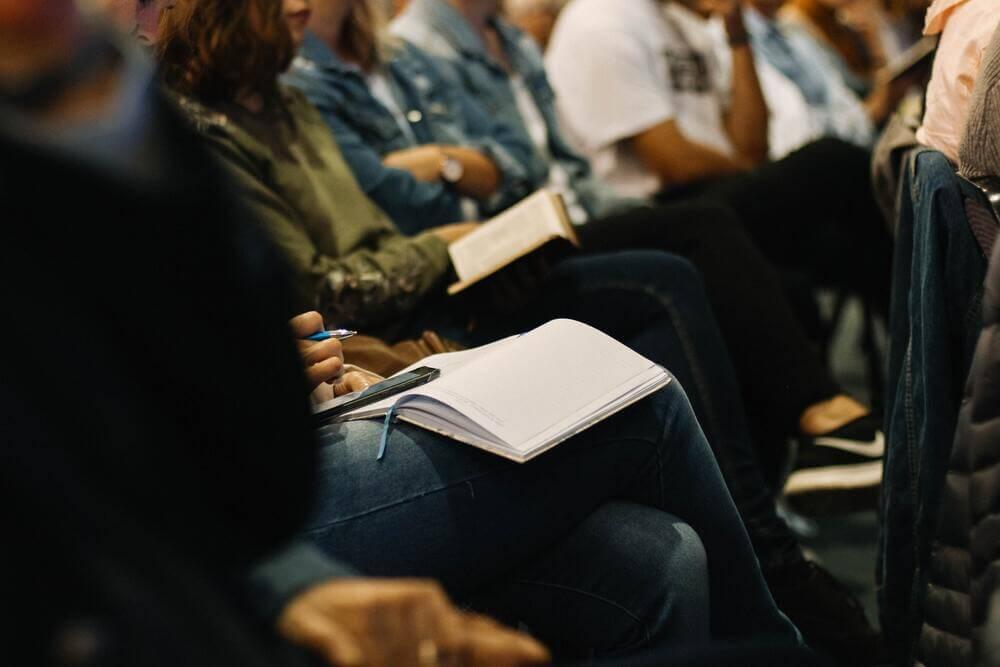 people learning university